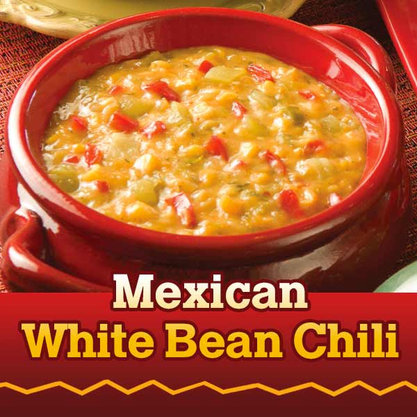 Mexican White Bean Chili Recipe by Brenda Walsh